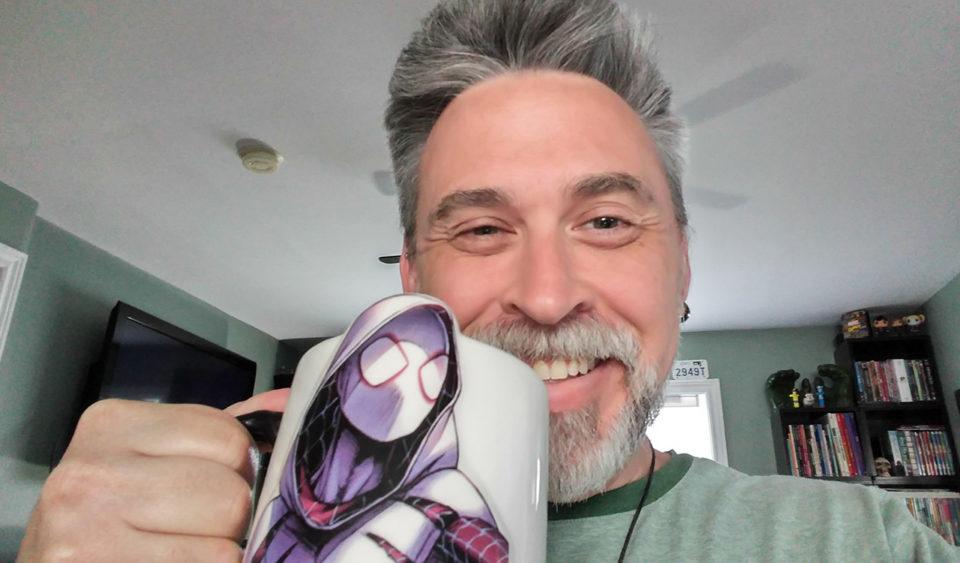 Spider-Gwen and Caffeine