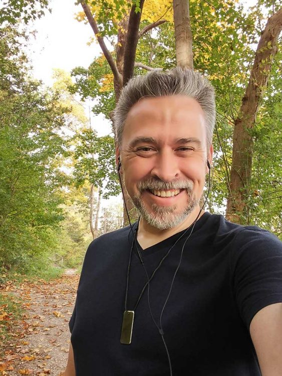 Walking the autumn trails
