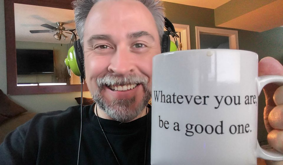 Music and a good mug of coffee