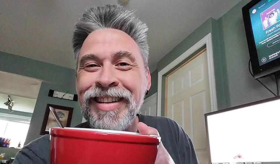 My mug over a mug